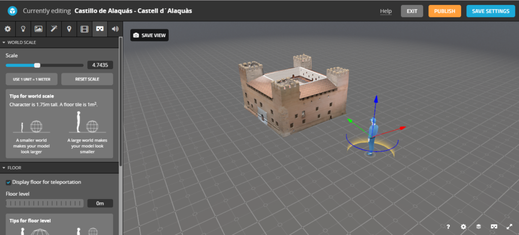 castillo alaquas realidad virtual