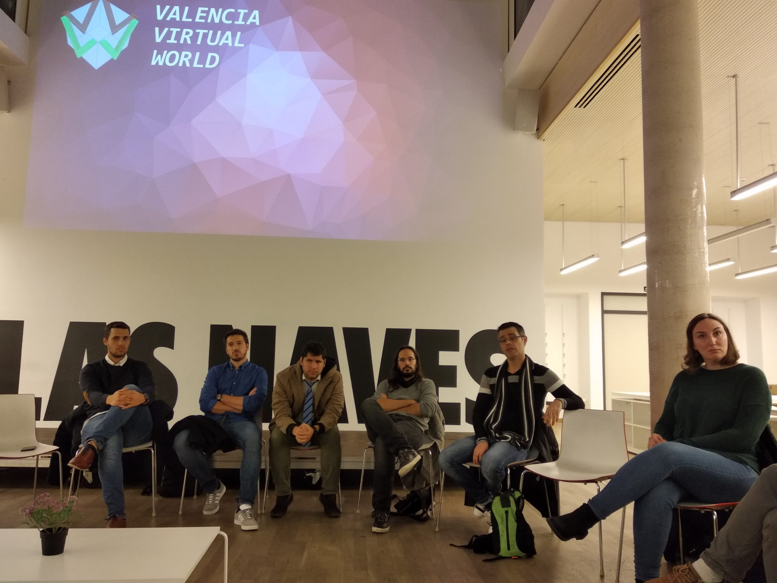 Reunion Meetup grupo realidad virtual